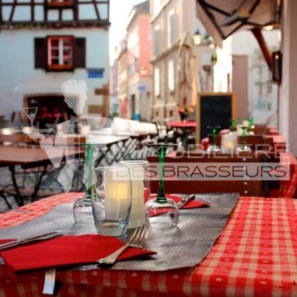 Terrasse - Restaurant - Strasbourg - Bas-Rhin - Alsace - Alsacien - Centre-Ville - Rue piétonne - Licence IV - Achat – Vente – Cession – Fonds de commerce – CHR – Licence 4