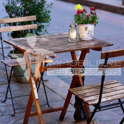 Terrasse - Restaurant - Strasbourg - Bas-Rhin - Alsace - Alsacien - Centre-Ville - Rue piétonne - Bar - Brasserie - Café - Salon de thé - Achat – Vente – Cession – Fonds de commerce – CHR – Licence IV – Licence 4